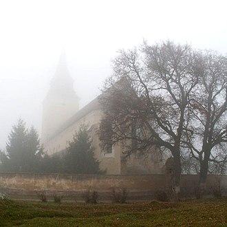Feldioara - Image: Marienburg Kirche