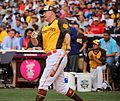 Mark Trumbo competes in semifinals of '16 T-Mobile -HRDerby. (27954730323).jpg