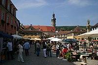 Marketplace of Weikersheim