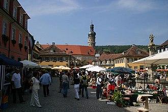 Weikersheim - Image: Marketplace of Weikersheim