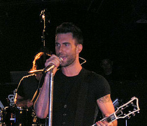 Adam Levine from Maroon 5