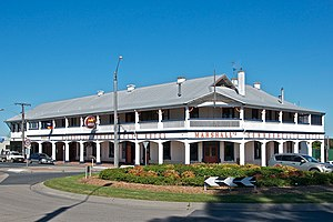 Orbost - Marshall's Commonwealth Hotel in Orbost
