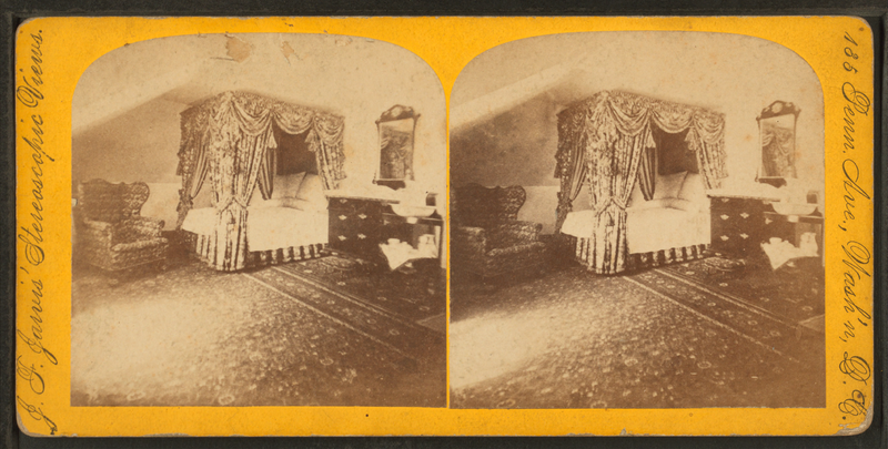 File:Martha Washington's bed-room, by Jarvis, J. F. (John F.), b. 1850.png