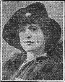 Marthe Ричард в 1915 году