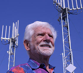 Martin Cooper, Two Antennas, October 2010.jpg