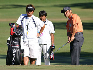Shigeki Maruyama Japanese professional golfer