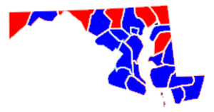 United States Senate election in Maryland, 2004 - Image: Maryland senate 2004
