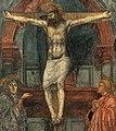 Masaccio, trinità, dettaglio 1.jpg