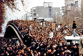 Iranian Revolution Overthrow of the last monarch of Iran, Mohammad Reza Pahlavi