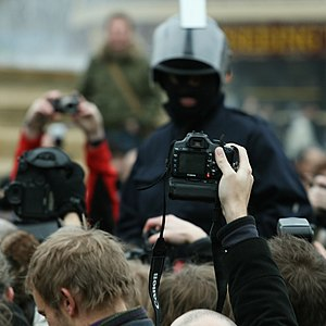 Photography and the law - Mass photo gathering in UK.