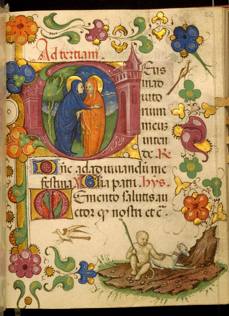 Master of Walters 323 - Leaf from Barbavara Book of Hours - Walters W32352R - Open Obverse