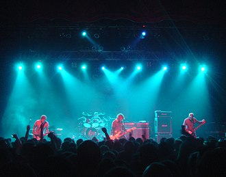 Mastodon discography - Mastodon performing live at the London Forum in 2007