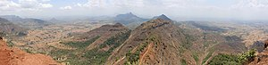 Monsoon - Western Ghats on May 28 in dry season, 2010