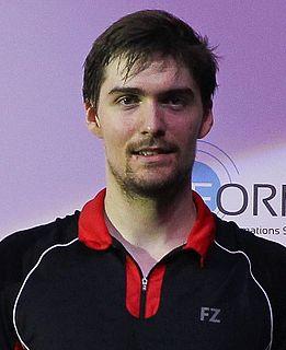 Mathias Christiansen Badminton player