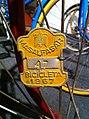 Matrícula de bicicleta de l'any 1967.jpg