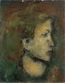 MatsumotoShunsuke Portrait of a Woman ca1946.png