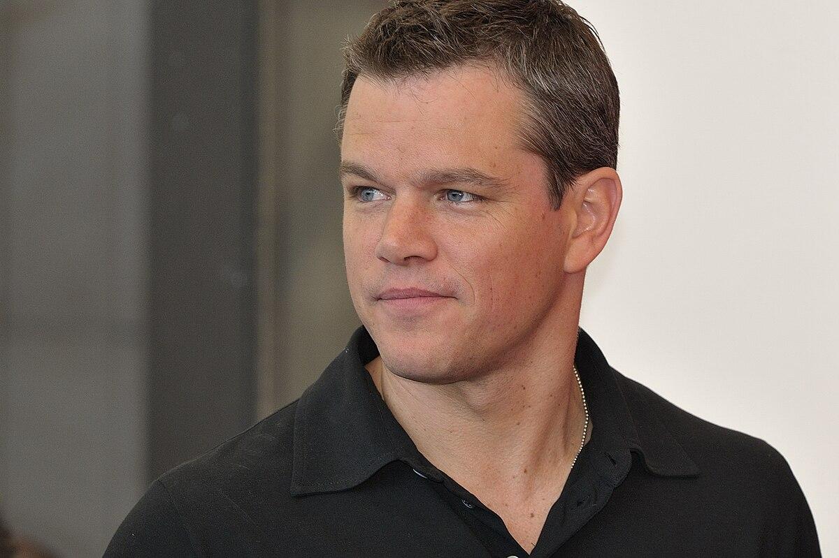 Matt Damon Größe
