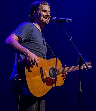 Matt Nathanson - Nathanson performing in 2014.