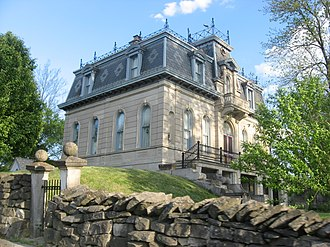 Richland Township, Monroe County, Indiana - The Matthews Mansion, located in the northern part of the township