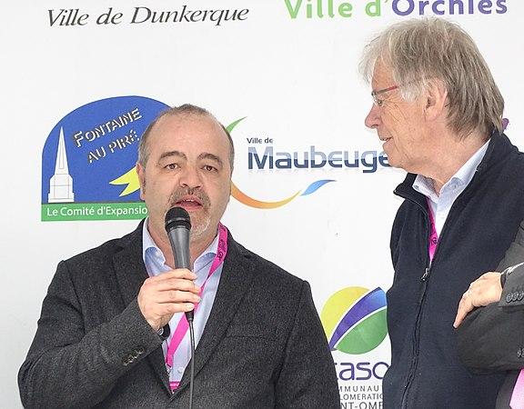 Maubeuge - Quatre jours de Dunkerque, étape 2, 7 mai 2015, arrivée (B10).JPG