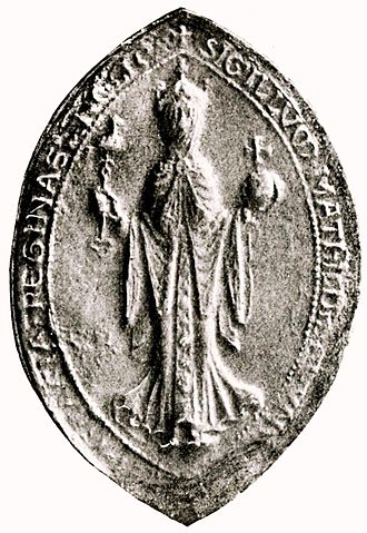 Matilda of Scotland - The seal of Matilda