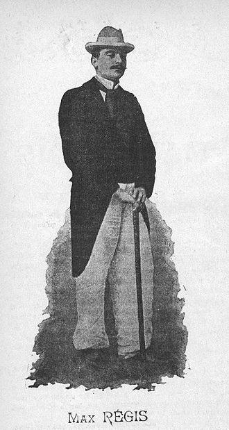 Max Régis - Max Régis in 1898
