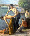 Maximilien LUCE, La toilette au pont des Saints-Pères, s.d., musée de l'hôtel-Dieu, inv. 98.04.18.JPG
