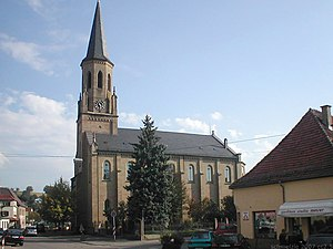 Meckesheim - Protestant Church