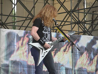 United Abominations - Dave Mustaine on tour promoting United Abominations