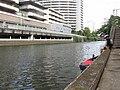Meguro River in Nishi-Gotanda 3-chōme, -16 Jul. 2012 d.jpg
