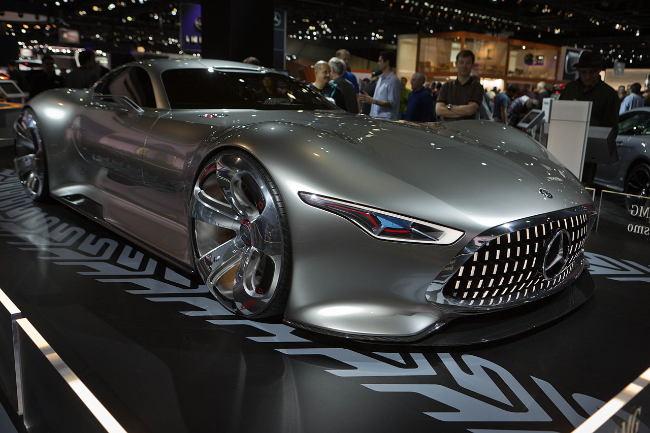 File mercedes benz amg vision gran turismo front right for Mercedes benz car show