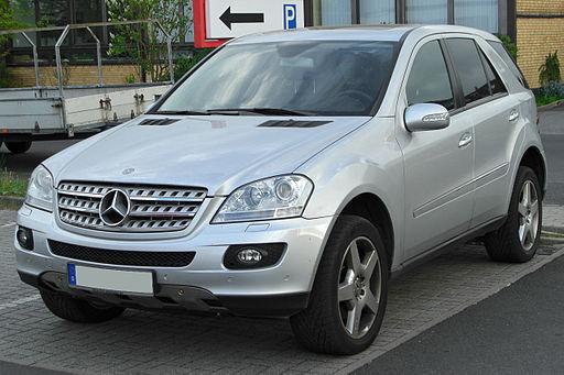 Mercedes ML (W164) front 20100501