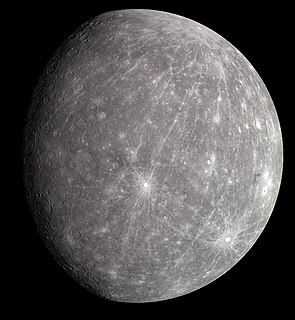 Mercury (planet) Smallest and innermost planet from the Sun in the Solar System