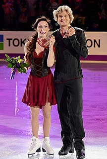 Davis and White American ice dancers