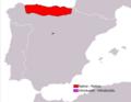 Mesotriton alpestris cyreni range map.png