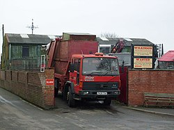 Metal Recycling Site, Well Lane - geograph.org.uk - 1709761.jpg