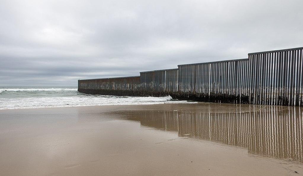 Mexico-US border at Tijuana