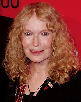 Mia Farrow in 2012