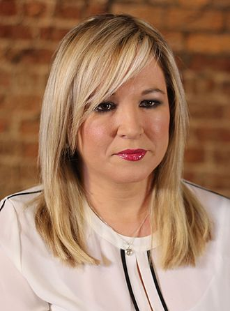 Michelle O'Neill - Image: Michelle O'Neill Jan 2017 (cropped)