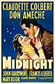 Midnight (1939 film one-sheet poster).jpg