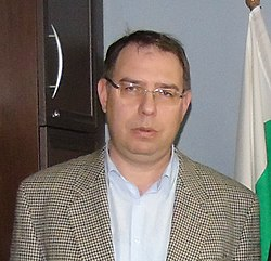Mihail Gruev, director of the Bulgarian Archives State Agency (cropped).JPG
