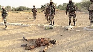 Boko Haram - Niger Armed Forces fighting Boko Haram in March 2015