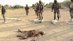 Boko Haram - Niger Armed Forces fighting Boko Haram in March 2015