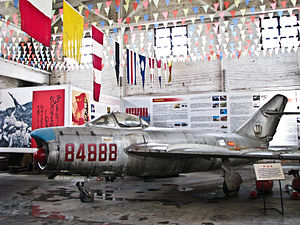 Military aircraft - Huangpu Military Academy, Guangzhou.jpg