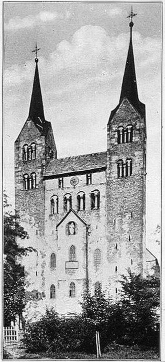 Annals (Tacitus) - Image: Milkau Das Kloster von Corvey 178 2