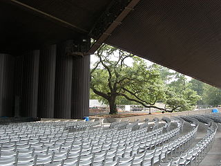 Miller Outdoor Theatre open-air theater in Houston, Texas, United States