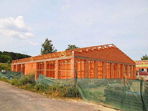 Milovice - building construction