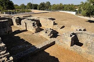 Die Ruinen von Milreu an der Algarve