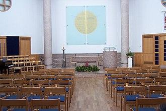 Church of Christ the Cornerstone - Interior