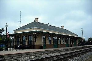 Mineola station (Texas) - Mineola station in September 2008